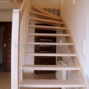 schody policzkowo sztycowe